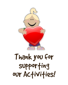 Thank you for supporting our activities